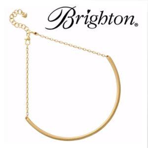 NWT BRIGHTON, Monogram Choker / Charm Necklace
